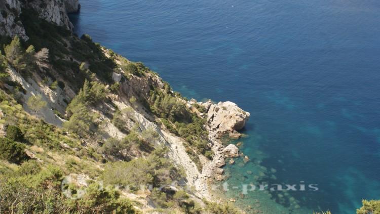 Steep coast at Es Vedra
