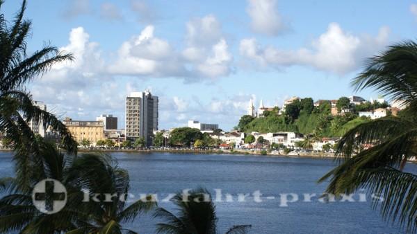 Ilhéus - Zentrum mit Rio Ilhéus