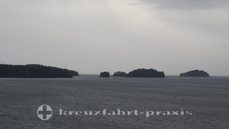 Inseln in der Inside Passage
