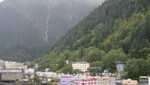 Juneau und die umgebenden Berge