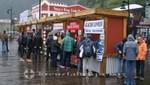 Juneau - Verkauf von Ausflugstouren im Pierbereich