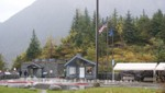 Einlass zum Mendenhall Gletscher-Gebiet
