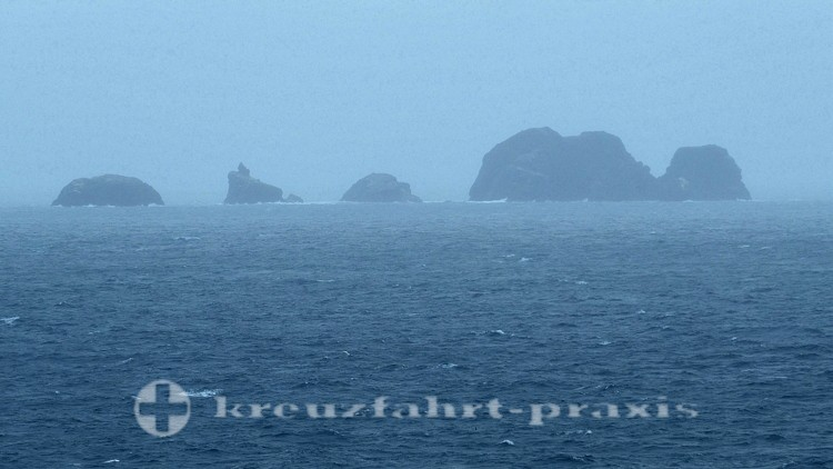 Felsen in der Drake Passage