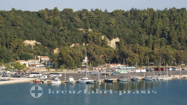 Katakolon - Anleger der Sportboote