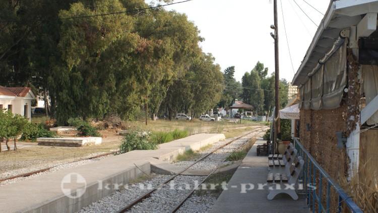 Katakolon - Bahnanschluss zum antiken Olympia