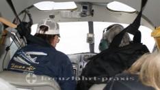 ketchikan pilot und fluggaeste