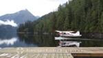 Wasserflugzeug im Fjord