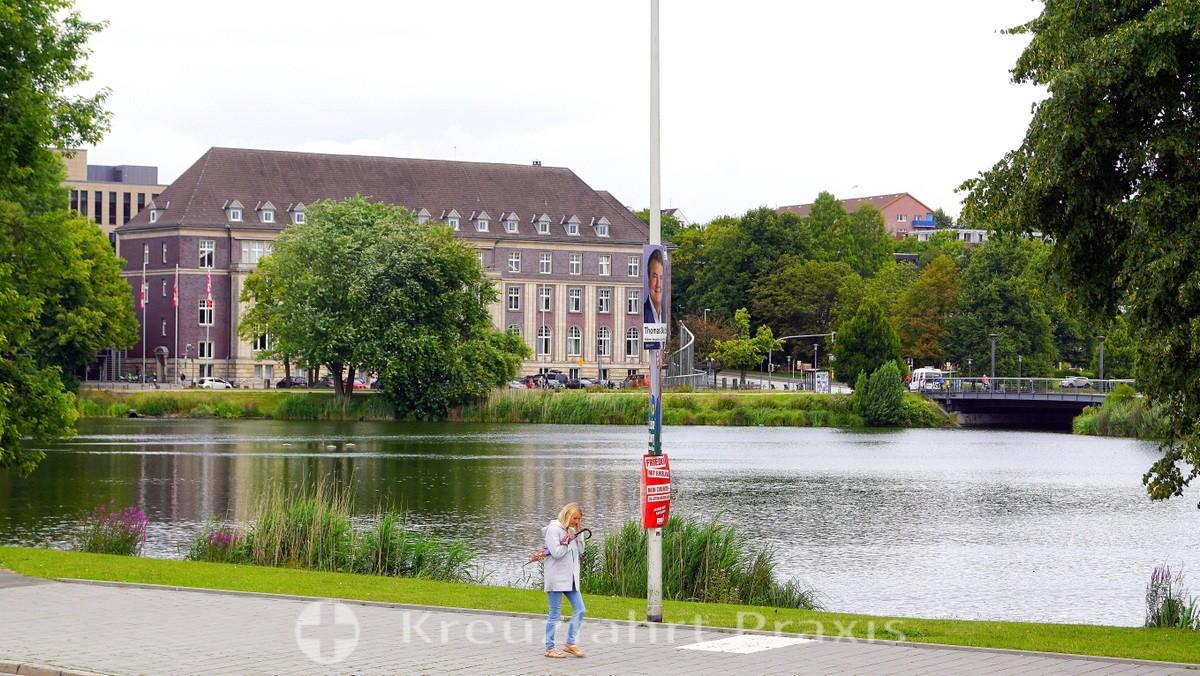 Little Kiel area of water