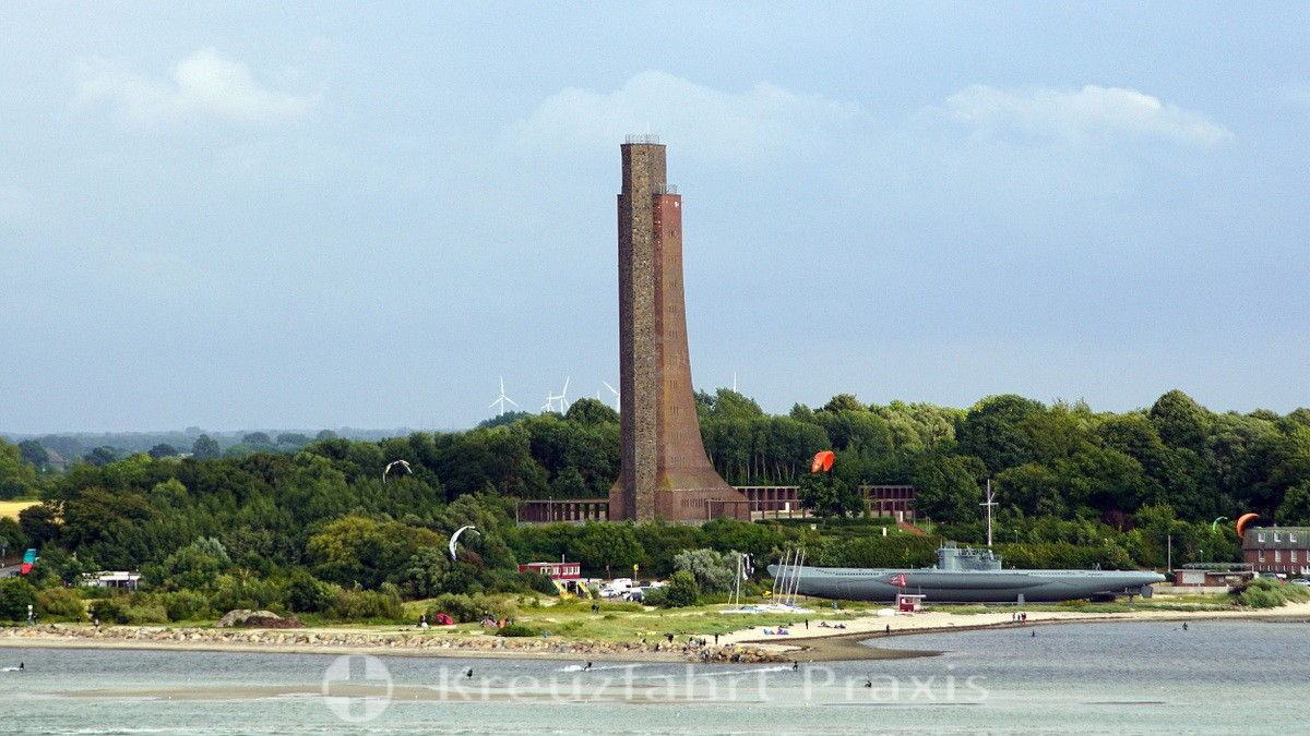Memorial of the Navy in the Baltic Sea resort of Laboe