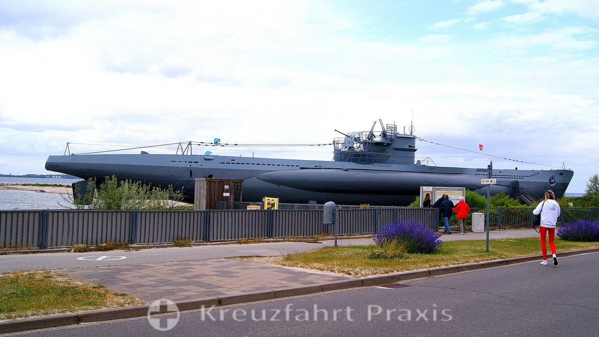 Cenotaph of the Navy in Laboe - U 995
