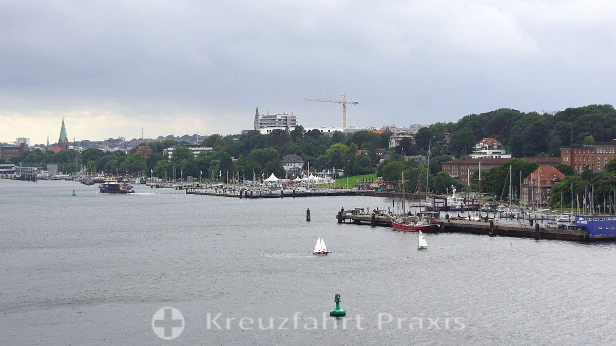 Out and about on the Kiel Fjord