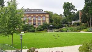 Kiel - castle garden with university building