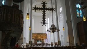 Sankt Nikolai Church - the triumphal cross