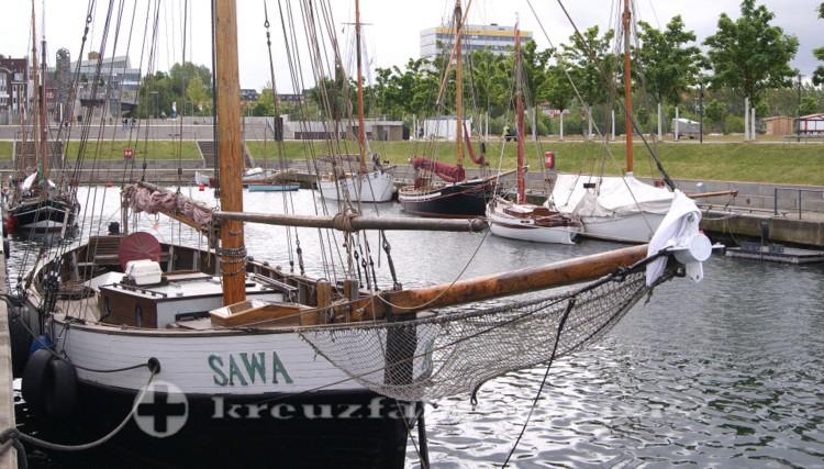 Boote im Germaniahafen