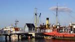 Die Museumsbrücke des Schifffahrtsmuseums