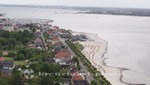 Blick vom Marine-Ehrenmal auf die Kieler Förde