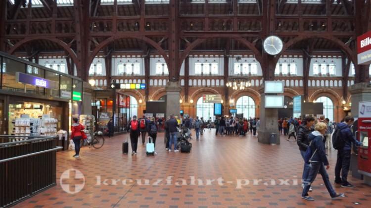 Wartehalle des Kopenhagener Hauptbahnhofs