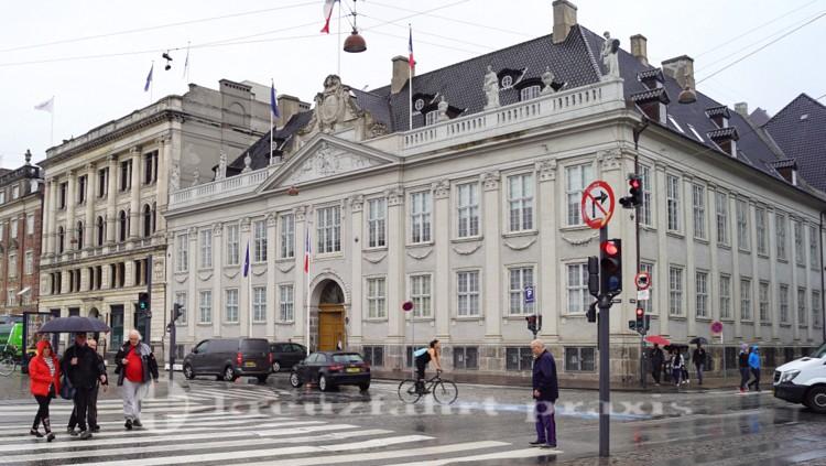 Die Franzoesische Botschaft am Kongens Nytorv