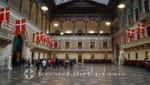 Rathaus Kopenhagen - der Große Saal