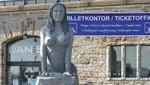 Die Alternative Meerjungfrau am Langelinie Kai