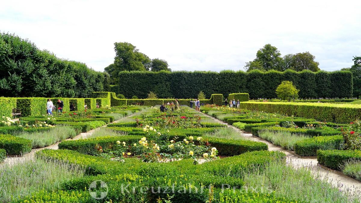 Rosenborg Castle - gardens