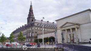 Christiansborg Palace with the Palace Church