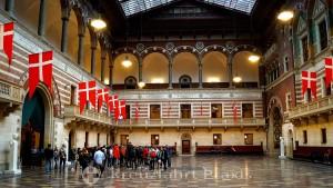 Copenhagen City Hall - reception hall