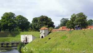 Access to the Kastellet