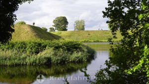 Wall and moat of the Kastellet