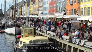 Nyhavn is a trendy and entertainment district