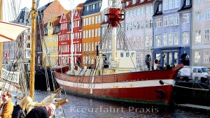Lightship in the Nyhavn Canal