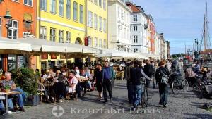 Copenhagen - Nyhavn district