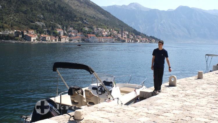 Kotor - Mit dem Motorboot nach Perast fahren