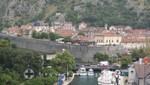 Kotor - Ein Teil der Festungsmauer