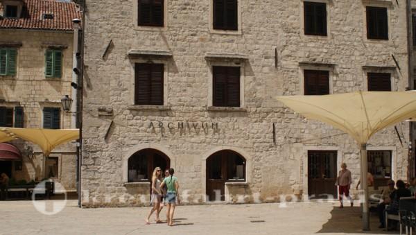Das historische Archiv Kotors