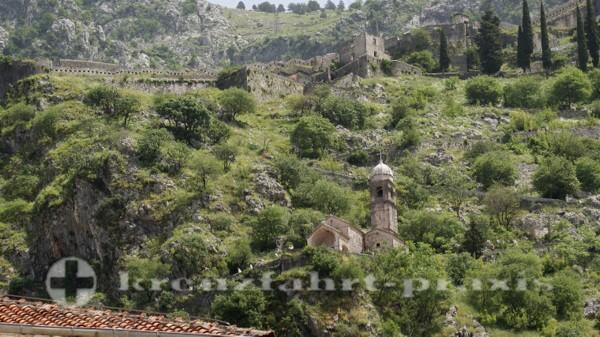 Wegstationen zur Festung Sveti Ivan