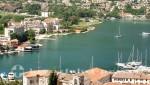 Das südliche Ende der Bucht von Kotor