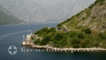 Bucht von Kotor - Seezeichen an der Biegung des Fjords