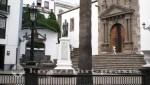Santa Cruz de La Palma - Plaza Espana mit der Iglesia de El Salvador