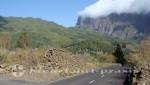 La Palma - Die zur Cumbrecita führende Straße