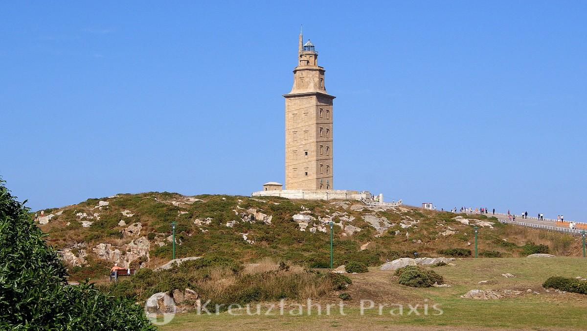 La Coruña - the Torre de Hercules