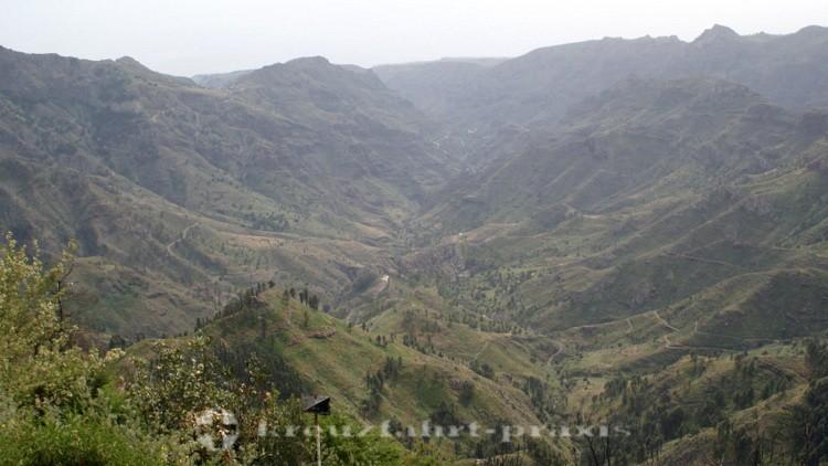 La Gomera - Mirador Roque de Tajaqué