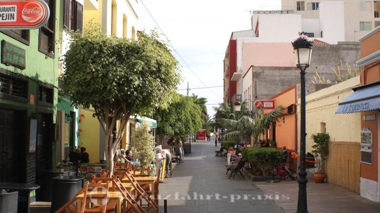 La Gomera - Calle Real in San Sebastian