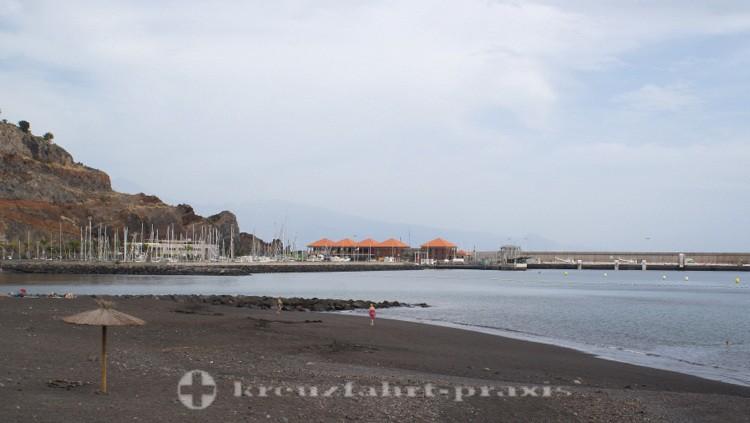 La Gomera - Cruise Terminal, Marina und Strand