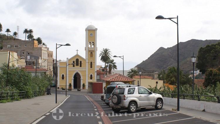 La Gomera - Kirche Nestra Senora de la Encarnacíon