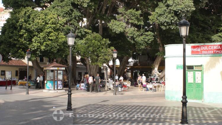 La Gomera - San Sebastián de la Gomera - Plaza de la conistitución