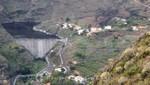 La Gomera - Wasserreservoir bei Mulagua