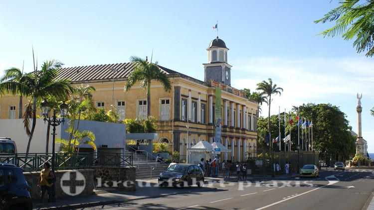 La Réunion - Saint Denis - Das Alte Rathaus