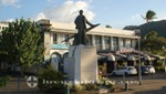 La Réunion - Denkmal des Roland Garros