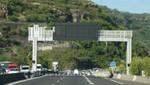 La Réunion - Autobahn in südlicher Fahrtrichtung